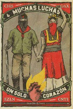 Resultado de imagem para ezln cartaz