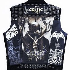 Celtic Frost and Hellhammer tribute jacket by Patchmaster from USA #patches #bloodlikerain #kutte #metaljacket #battlejacket #wovenpatch #celticfrost #hellhammer battlejacket #metalpatches #metaljacket #kutte #bandpatch #bandpatches #battlevest #bloodlikerain #testament #heavymetal #thrashmetal #denimjacket #patchedjacket #patchedvest #metal #wovenpatch #deathmetal