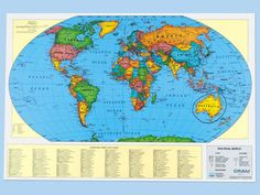 world maps to write on | Write & Wipe World Wall Map #LakeshoreDreamClassroom This map is ...