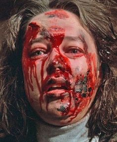 Kathy Bates as Annie Wilkes, 1990 American psychological horror film based on Stephen King's 1987 novel, Misery. Misery Stephen King, Stephen King Movies, Horror Icons, Horror Films, Scary Movies, Good Movies, Steven King, Slasher Movies, Psychological Horror