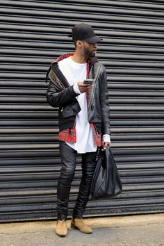 New York Men's Fashion Week street style