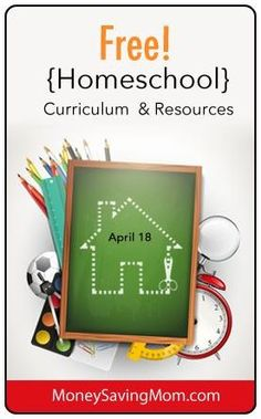 Check out this LONG list of free homeschool resources, printables, curriculum, and more! This is a FANTASTIC resource for homeschool freebies!
