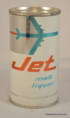 Jet Malt Liquor Packaging Can Design