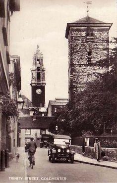 Trinity Street, Colchester. #postcards