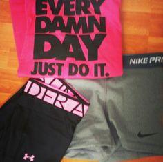 Workout gear. #fitnessgear