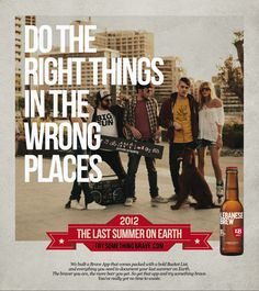 The Last Summer on Earth - 2012 Advertising Campaign for Lebanese Brew by Interesting Times