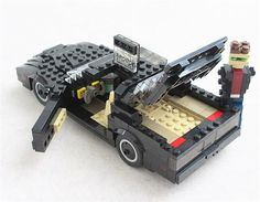 Cool Movie Cars Made Out Of Lego - Can you guess this car?