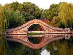 Moon Bridge, Wuxi, China