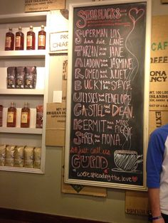"""shanology:shiresweetshire:Look what was in Starbucks today! STUCKY AND DESTIEL!!Starbucks showing support for """"Starbucks"""" lol"""