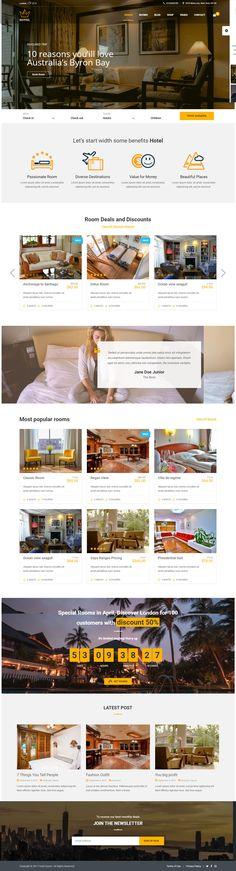 thiết kế webstie khách sạn phượng hoàng