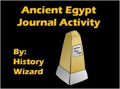 This activity is designed to allow students to write a five paragraph essay about the Ancients Egyptians in a fun and creative way. Students will use the following website to gather information about the Ancient Egyptians. http://egypt.mrdonn.org/  This website is very student friendly.