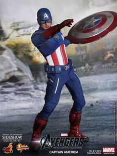 Sideshow Collectibles - Captain America Sixth Scale Figure