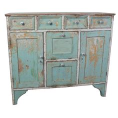 Pine Multi-drawer Cabinet