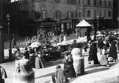 PIAZZA DI SPAGNA 1900