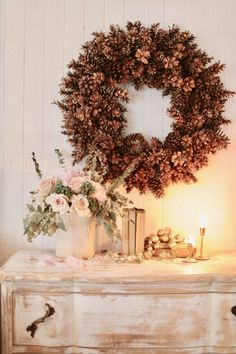 Simple ideas for decorating for winter - French Country Cottage