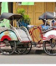 Becak , Java | #Indonesia