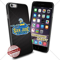 San Jose State Spartans, Logo NCAA Sunshine#2253 Cool iPhone 6 - 4.7 Inch Smartphone Case Cover Collector iphone TPU Rubber Case Black SUNSHINE-HAPPY http://www.amazon.com/dp/B011SHGLGA/ref=cm_sw_r_pi_dp_-7H.vb1162N8B