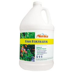 Alaska 32-fl oz Organic Flower and Vegetable Food Liquid (5-1-1)  32-fl oz Organic Flower and Vegetable Food Liquid (5-1-1)  All-purpose deodorized fish emulsion fertilizer Organic Materials Research Institute (OMRI) listed Approved for use in production of organic food Use on all indoor and outdoor plants, will not burn Stimulates soil's micro organisms to help build soil content