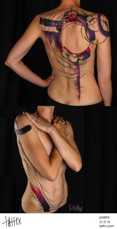 Belly Button Tattoo Shop - Violet Swatchestattrx.com/artists/belly-button-fabien-batista