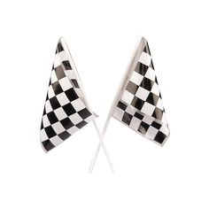 These checkered flags might signal the end of the race, but they don't need to signal the end of the fun! Checkered racing flags are fun party decorations and neat additions to a race car or Nascar party goody bags. Nascar Party, Race Party, Nascar Race Cars, Race Car Birthday, Cars Birthday Parties, 3rd Birthday, Birthday Ideas, Car Centerpieces, Cars Party Favors