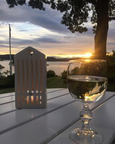 Cabin life, have a nice evening #myplace#mycabin#visitsorlandet#risør#norway#myhappyplace#sunset Sunset Photography, White Wine, Norway, Alcoholic Drinks, Sunrise, Nice, Glass, Instagram Posts, Drinkware