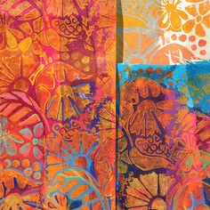 Love this printed fabric. Ruth Issett | Textile Study Group