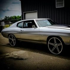 Middle Georgia Muscle Customs 70 chevelle iroc wheels concave silver grey atlanta