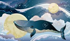 23655384-Cartoon-blue-whale-flying-on-a-night-starry-sky-Fantastic-vector--Stock-Photo.jpg (1300×775)