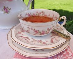 The Nest at Finch Rest: Pink Peony Tea Time