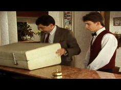 mr Bean - Checking in at the hotel - YouTube