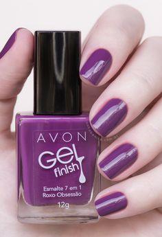 enamel-avon gel-finsih-purple-OBSESSION