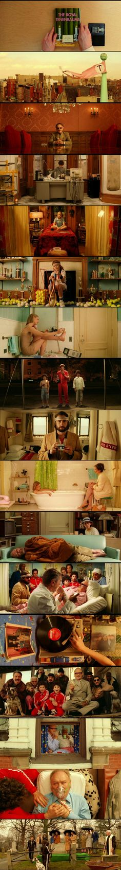 The Royal Tenenbaums(2001). Written and Directed by Wes Anderson.