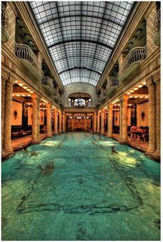 Hotel Gellert, Budapest, Hungary