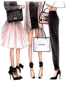 Fashion Illustration Chanel art Chanel print Fashion wall art Coco chanel art Chanel poster Chanel art print Chanel home decor Chanel girls - Iphone hintergrundbilder - Mode-Illustration Chanel Kunst Chanel print Mode Wandkunst Paper Fashion, Fashion Wall Art, Fashion Prints, Fashion Design, Diy Fashion Decor, Fashion Ideas, Chanel Poster, Chanel Print, Moda Wallpaper