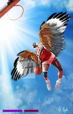 We all doubted the Atlanta Hawks and like this painting of Dominique Wilkins by Jennifer Hynds. They swooped in with wings prey to beat the Pacers in Game Basketball Art, Basketball Leagues, Basketball Pictures, Basketball Design, Dominique Wilkins, Atlanta Hawks, Great Pic, Nba Champions, World Of Sports