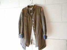 Français Veste longue Vêtements femme manteau par Birdycoconut