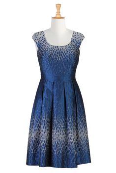 Shop Womens Designer Clothing   Fashionable Women's Cocktail Dress     eShakti.com