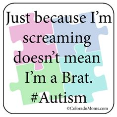 Sometimes I want to hold up signs telling people what assholes they can be when it comes to Autism...