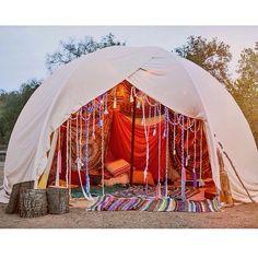 coachella tent