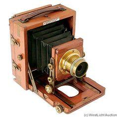 Lancaster: Instantograph (Brass) camera