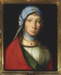 Boccaccio Boccaccino: La petite bohémienne. Vers 1505. Florence, Galleria degli Uffizi.