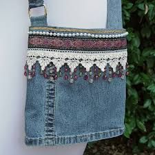 Image result for denim bag