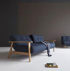 Looking for a corner sofa? Why not combine the Sofa with a Buri Chair. Sofa Design, Canapé Design, Interior Design, Design Ideas, 3 Seater Sofa Bed, Sleeper Sofa, Cama Futon, Innovation Living, Luxury Sofa