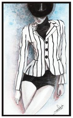 Ralph Lauren-fashion illustration by =Tania-S
