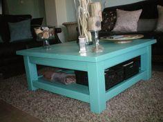 Tiffany Blue Coffee Table