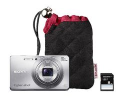 sony DSC camera bundle - perfect holiday gift!