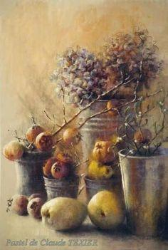 """""""Nature morte aux mangues"""" par Claude Texier"""