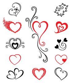 Heart tats