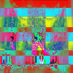 Happy new year #geometric #glitch #glitchart #art #abstract