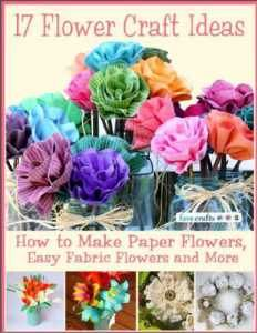 Use #recycled paper or #upcycled fabric to take this fun craft to a #greener level!
